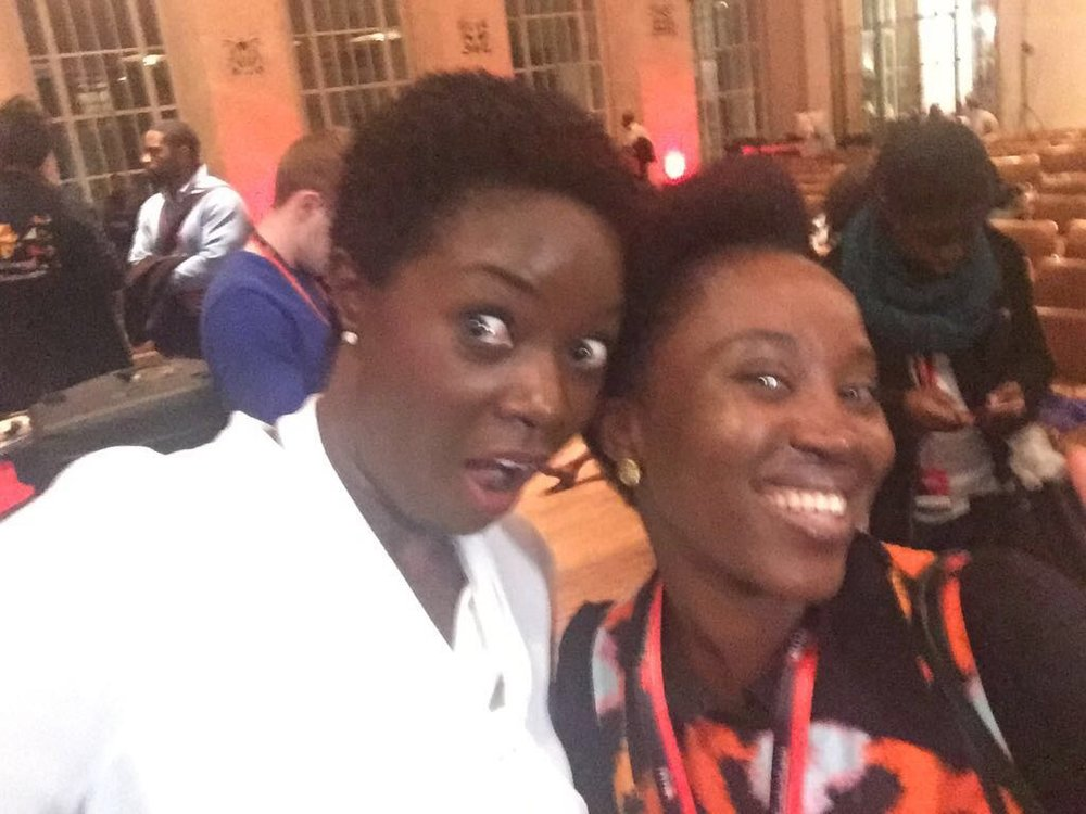Mrs. Quist & I at TEDxEuston in London last year.