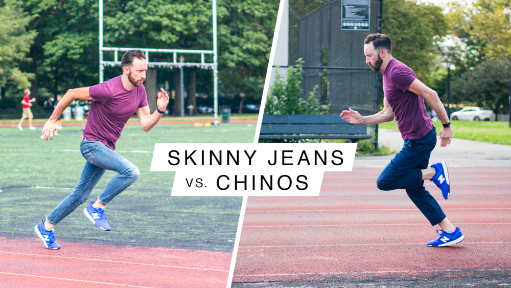 Skinny Jeans VS. Chinos: The Ultimate Sports Combine Face-Off - Deadspin - J. Crew