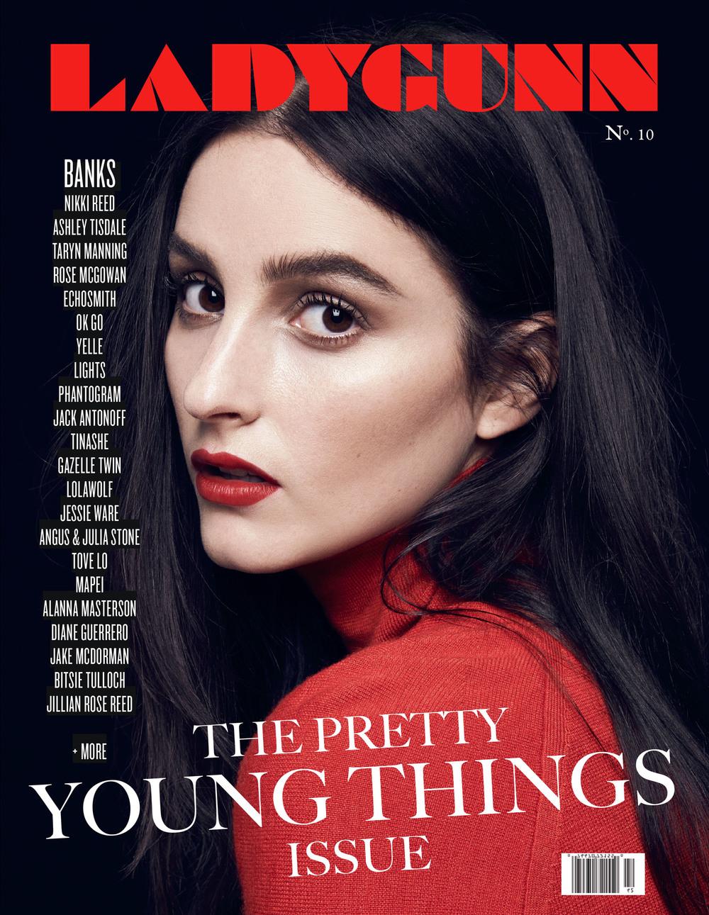 BANKS, Ladygunn Magazine