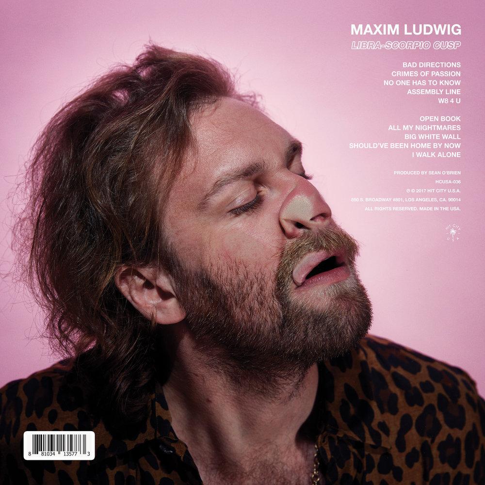 MAXIM LUDWIG, Libra-Scorpio Cusp