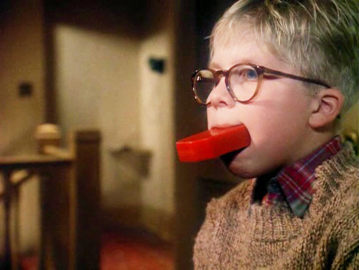 Screengrab from A Christmas Story