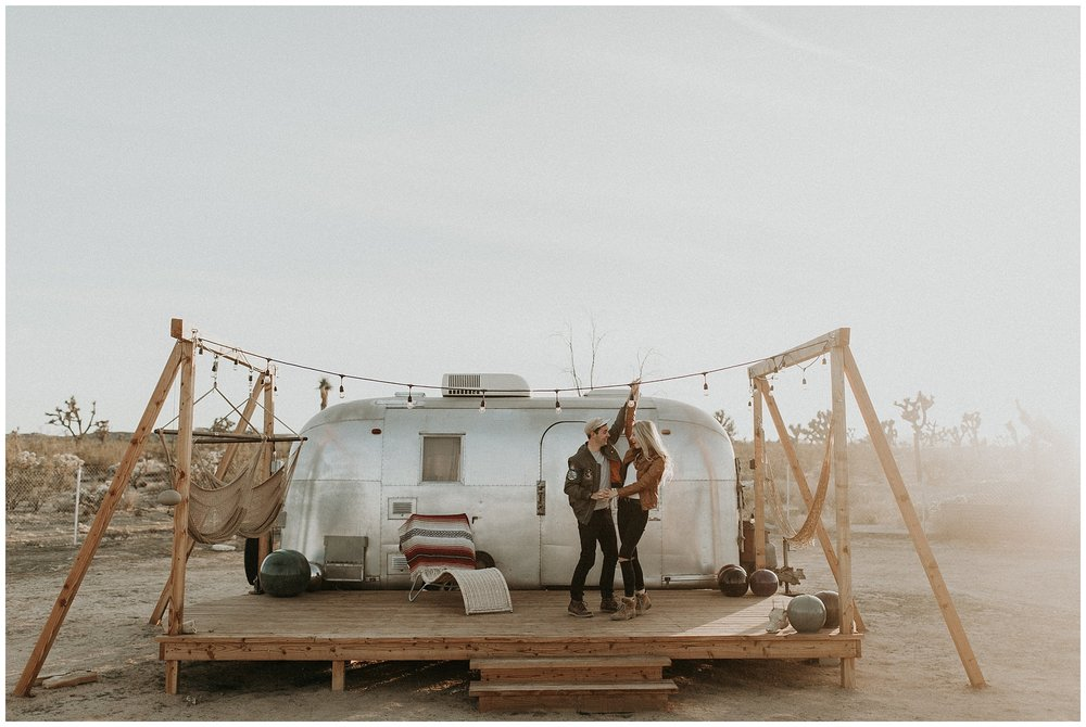 AIRSTREAM ENGAGEMENT -