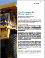 Opportunities for Mining Suppliers (PDF)