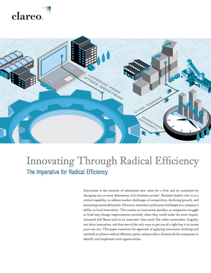 Innovating Through Radical Efficiency