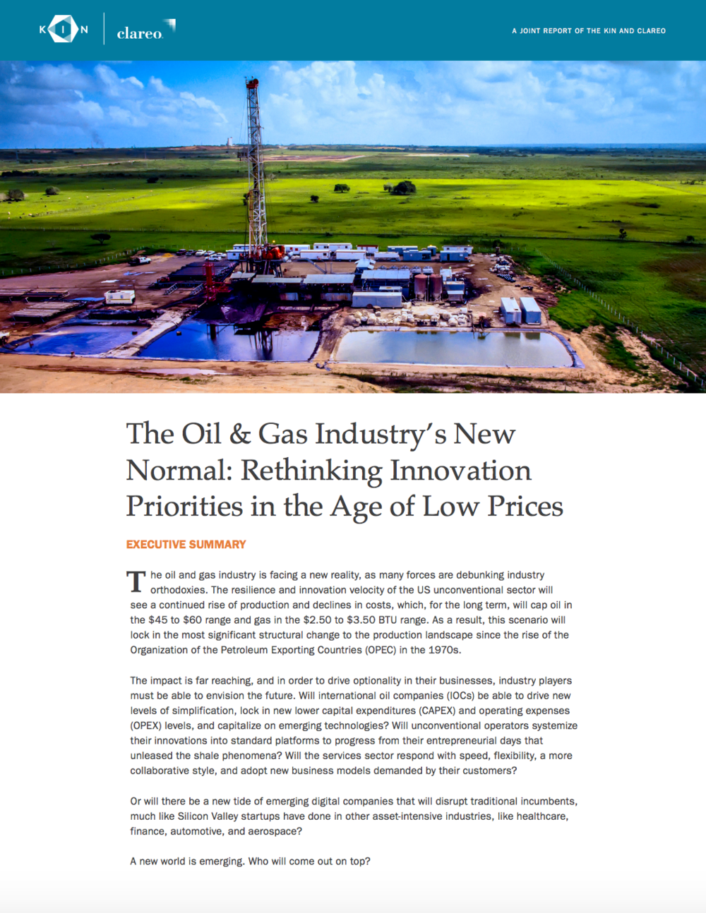 The Oil & Gas Industry's New Normal