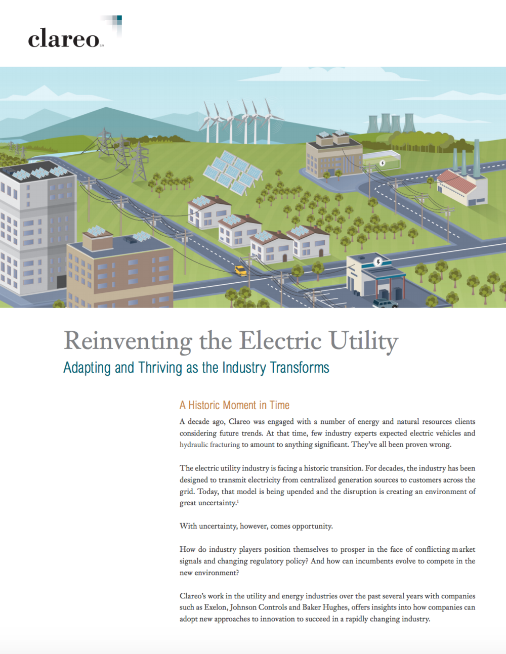 Reinventing the Electric Utility