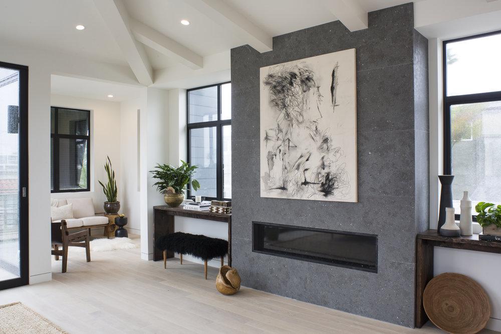 modern living room inspo