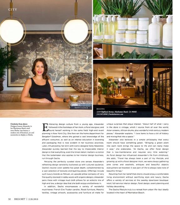 Digs Magazine February 2016