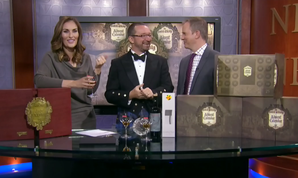 Click to watch Jonathan Bray present the Secret Spirits Scotch Whisky Advent Calendar on the CTV Morning Live Show.