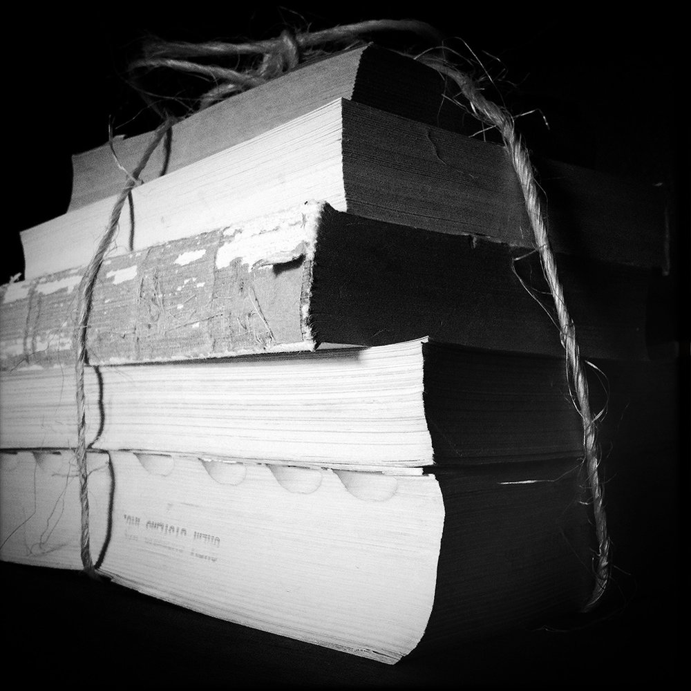 Books and twine