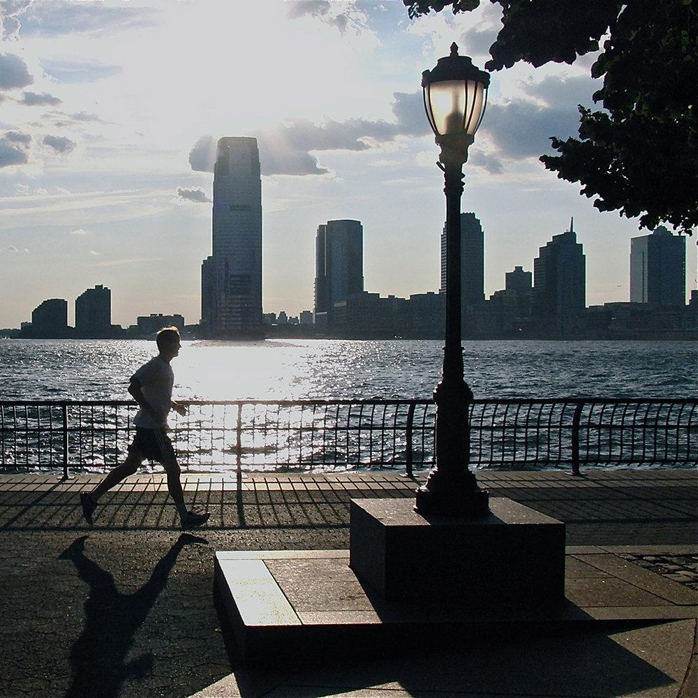 Battery Park runner