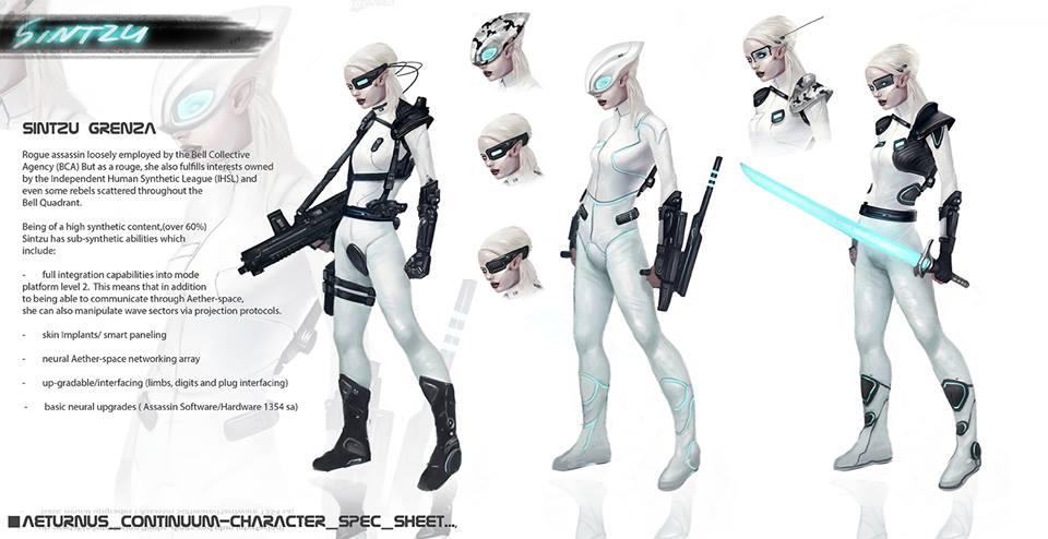 Sintzu Character Design