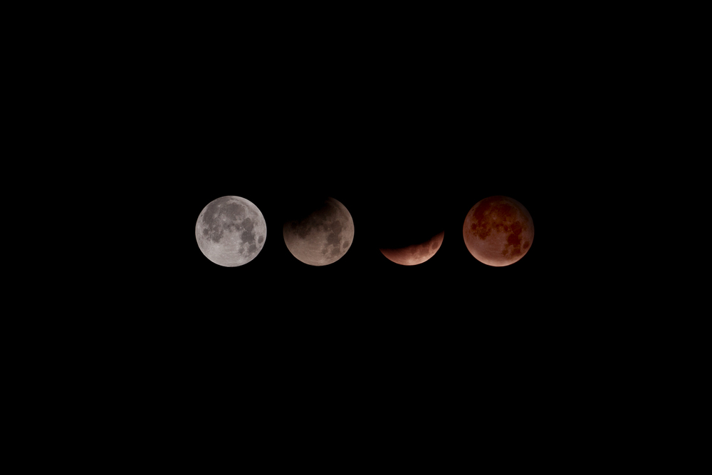 Full Moon to eclipse.