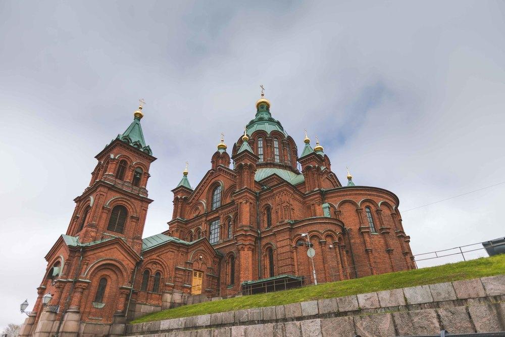 Uspenski Cathedral.