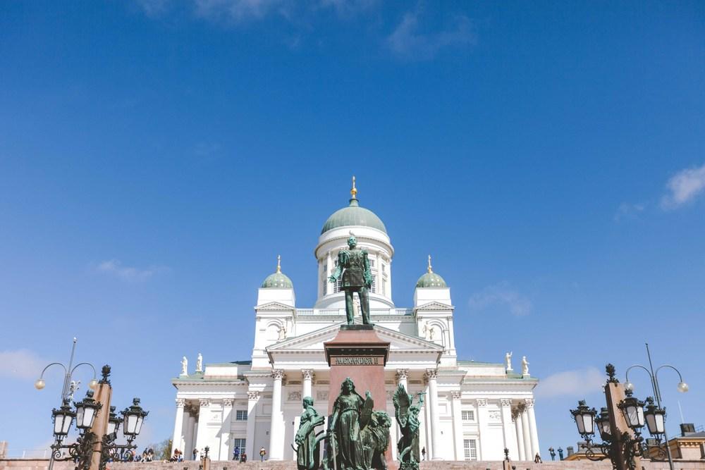 Helsinki Cathedral.