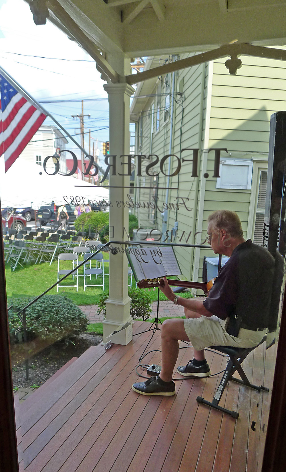 Live Music On Our Front Porch