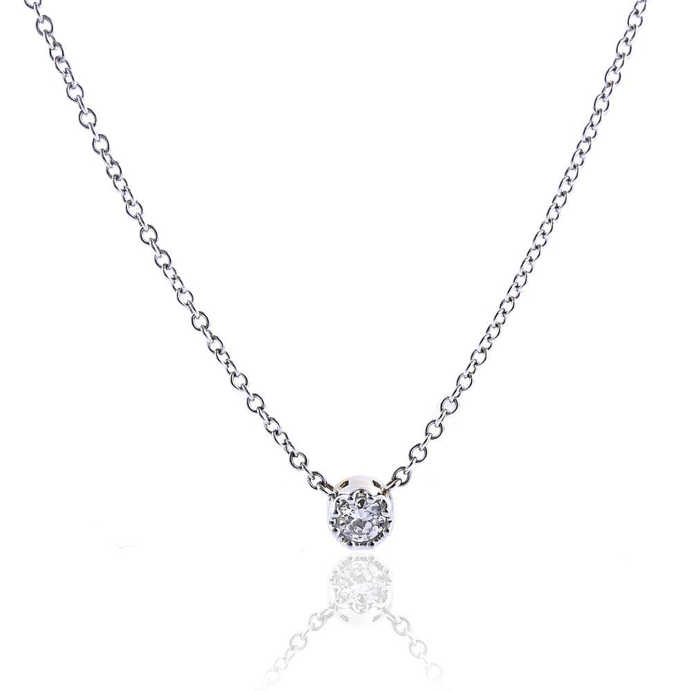 0.35 Carat Diamond Pendant, Special - $1,500