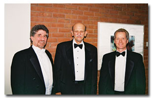 Left to right: Russell Hoffman, Milton Schwartz, and Craig Smith.