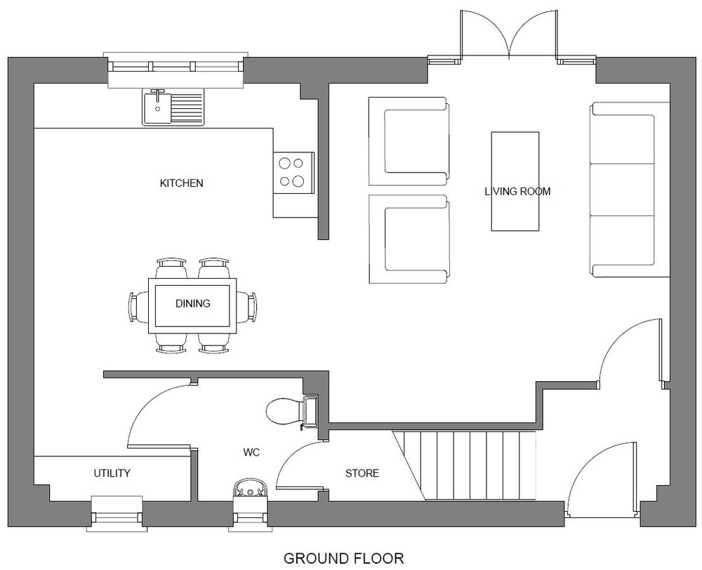 2D Floor Plans - 2D Floor plans are essential when marketing a property they clearly and accurately communicate the internal layout.