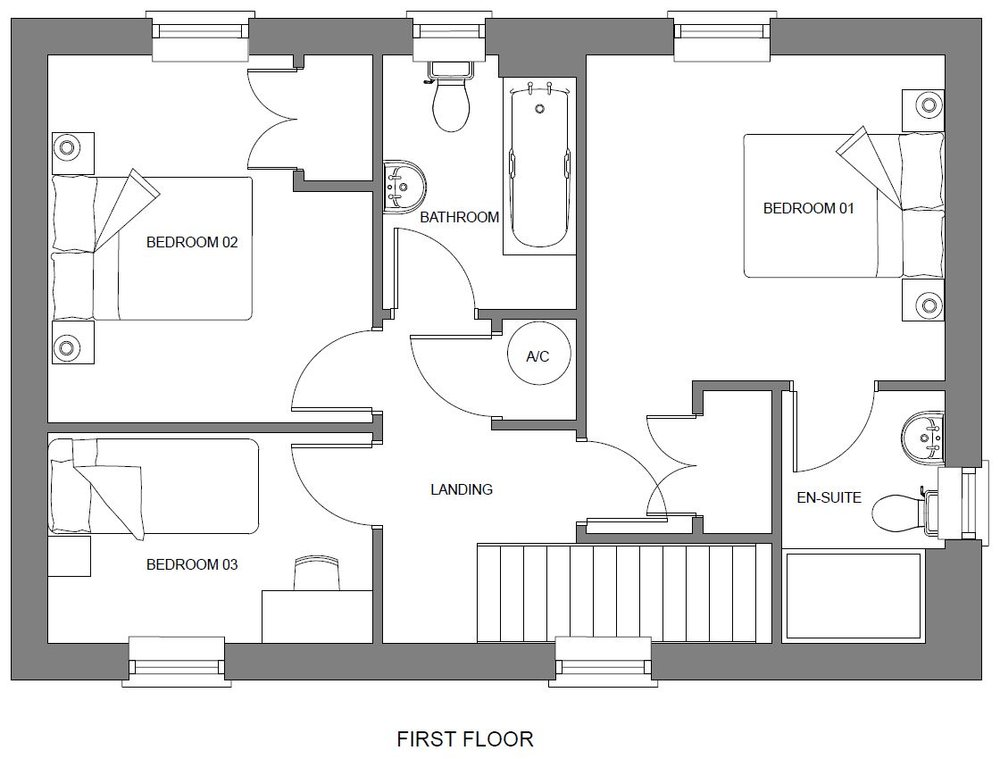- In addition to our 3D renders we can provide 2D floor plans as an addition to any developments marketing package.
