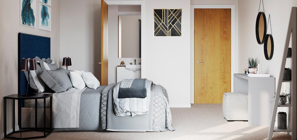 Bedroom CGI -