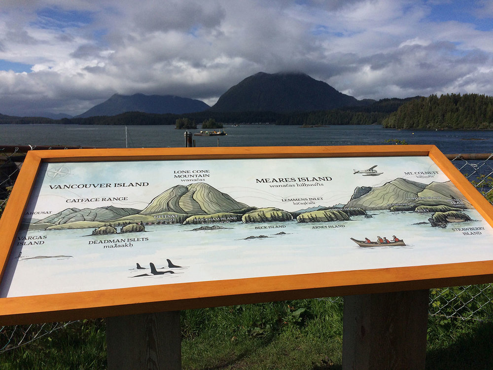 District of Tofino - Anchor Park Sign