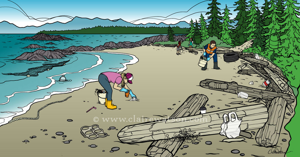 BC Ferries - Sea Forward - Coastal Clean Up Search & Find