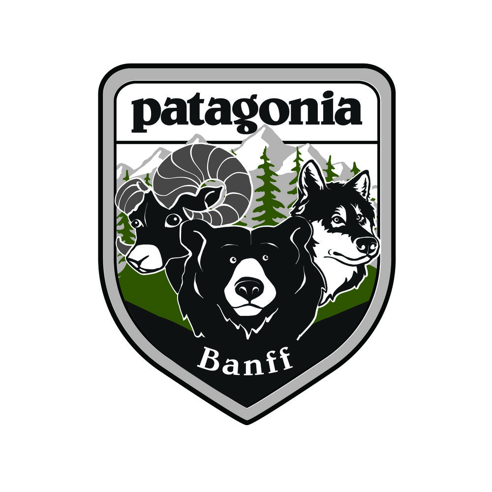 Patagonia Banff - Patch Design