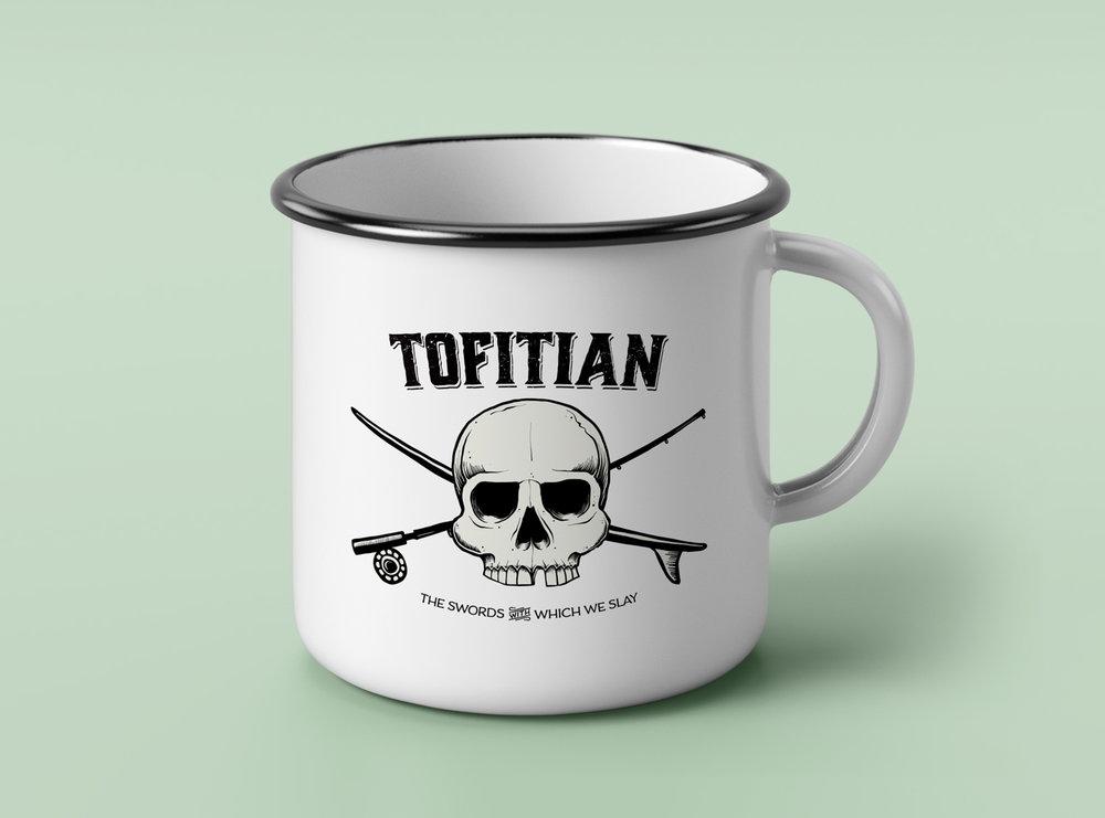 Tofitian Skull Logo