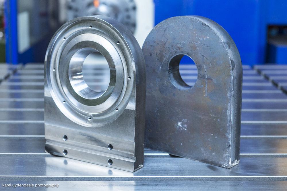 Custom aluminum parts - Werkhuizen Decloedt