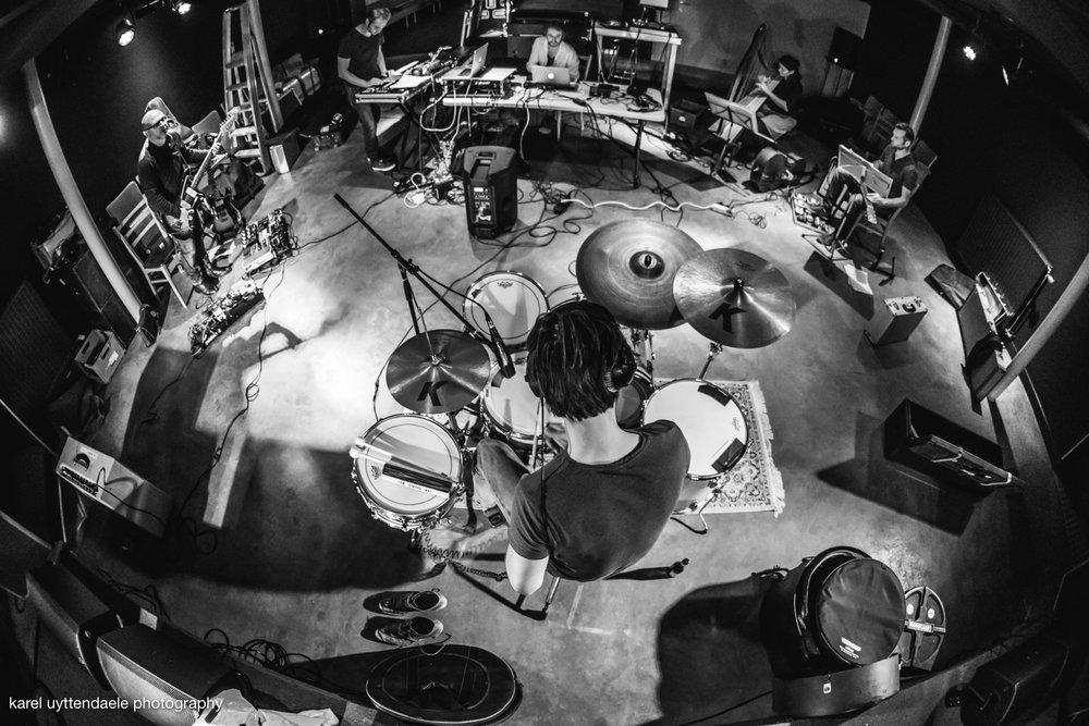 Ansatz der Machine - Rehearsals - N9 Lokeren