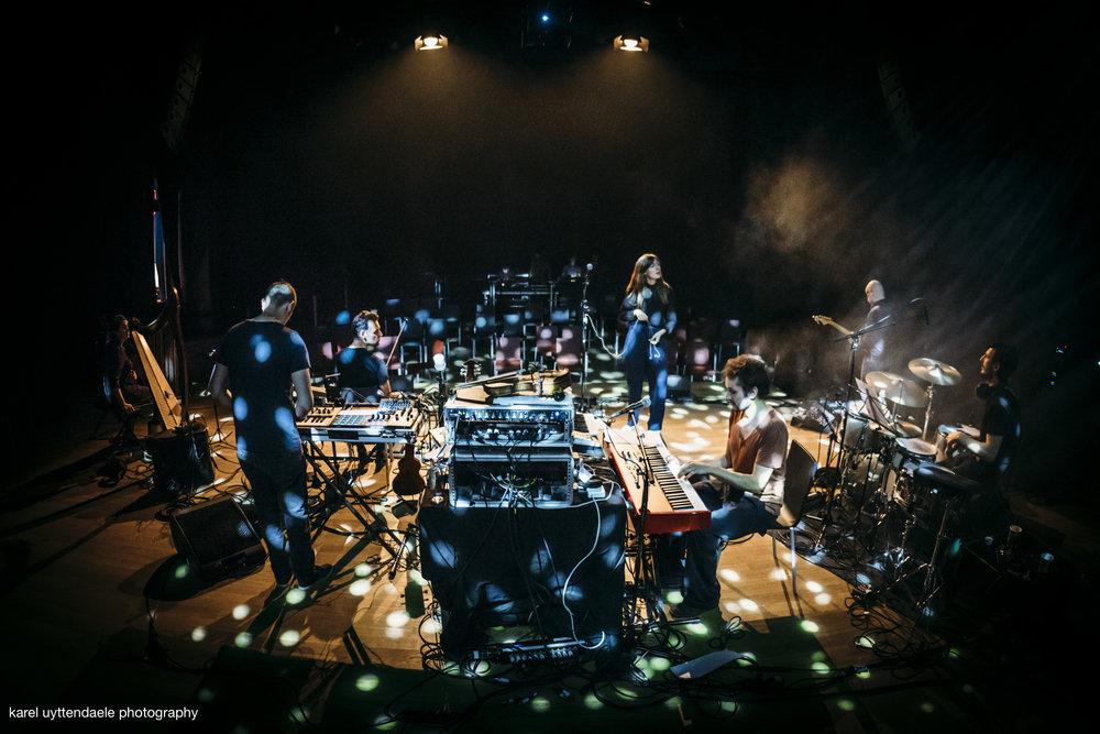 Ansatz der Machine - Soundcheck / Handelsbeurs Gent
