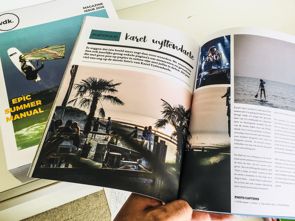 Windekind Surf magazine - 2018 edition
