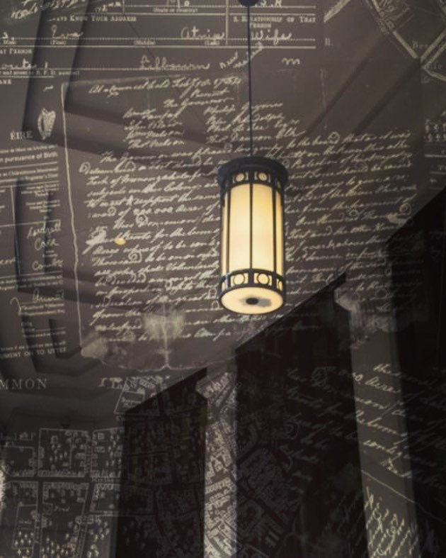 """ILLUMINUS 2018 Artist of the Day • Randal Thurston • Suffolk University • """"Arrival"""" . . """"Arrival"""" is a projection artwork comprised of photographs, historical documents, maps and student developed text. The piece works to bring to the forefront a theme of Neighborhood, specifically within the building site and the Suffolk community. . . #IlluminusArtists18 #IlluminusBoston #ILLUMINUS #LightTheNight #BostonArt #ArtLifeBoston #ArtInstallation #LightArt #PublicArt #SuffolkUniversity #Suffolk #SuffolkAlumni #SuffolkRams @downtownbostonbid @luminartz @suffolk_u"""