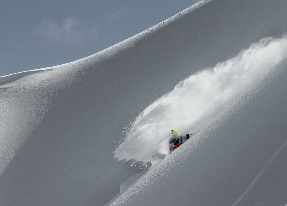 Photo: Justin McCarty Skier: Chris Grabher