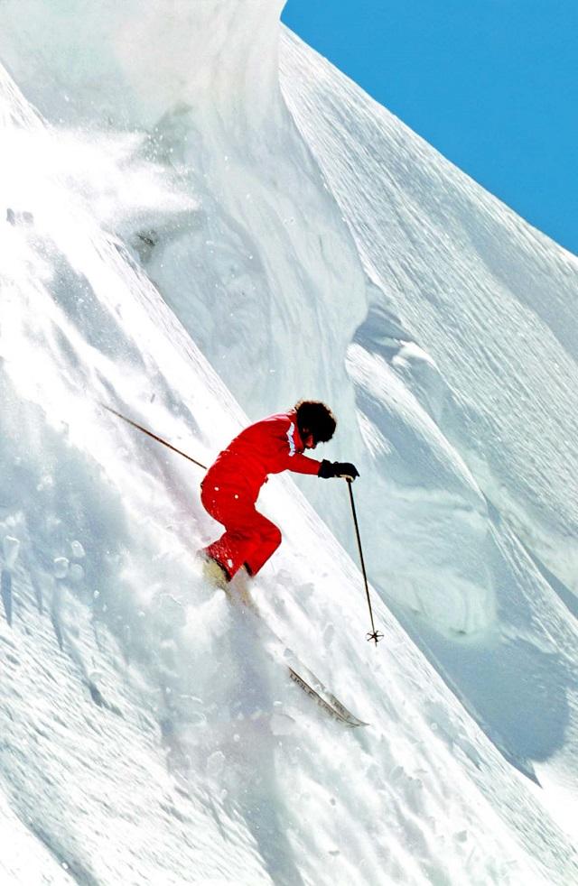 """Sylvain Saudan,  """"Le Skieur de l'Impossible"""""""