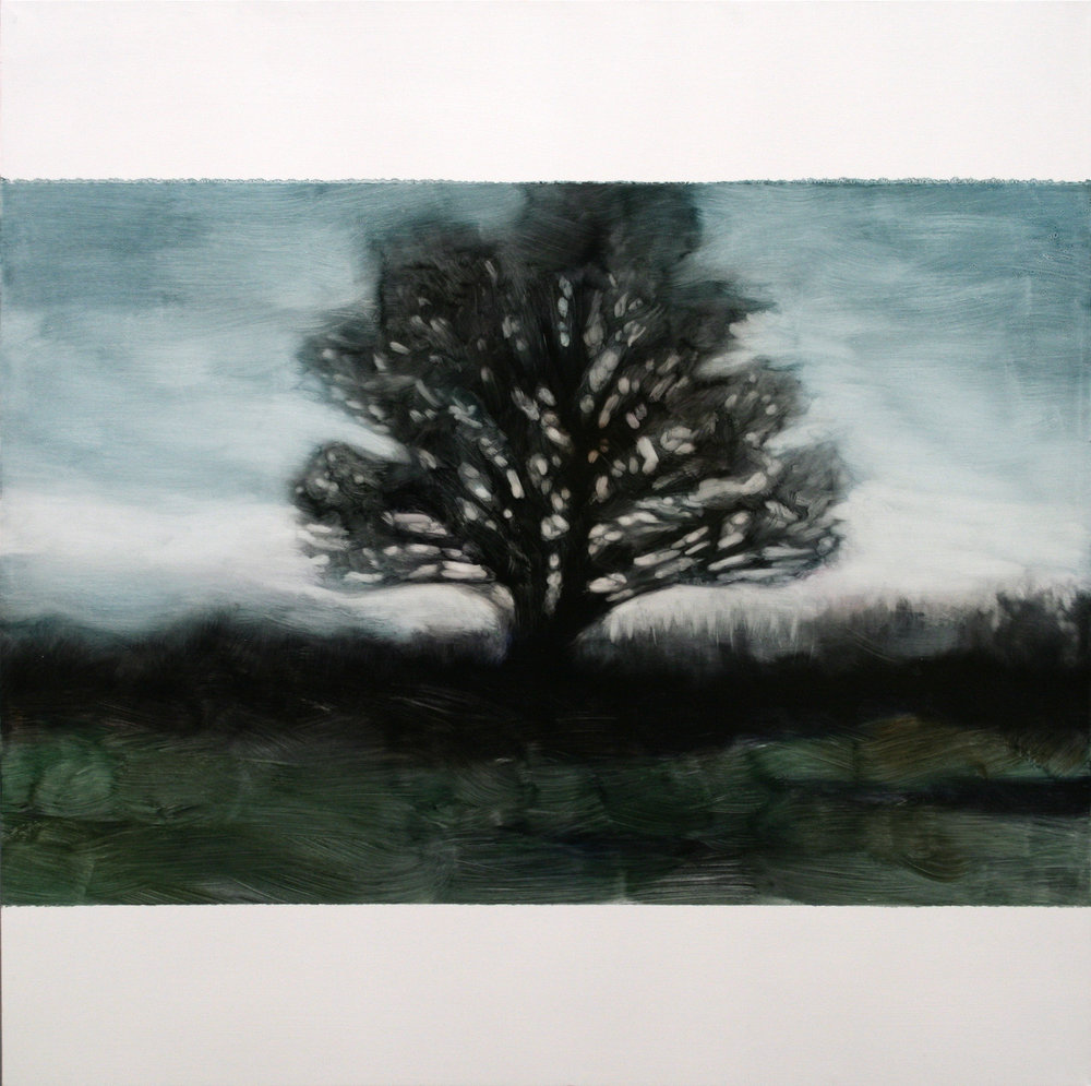 2. Hicks Gallery, 90 x 90cm