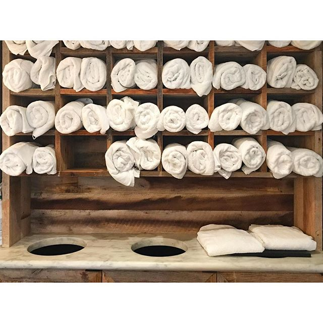 Nicely stacked for your enjoyment. #steamroom #coffeescrub #plantbasedskincare