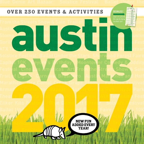 a austin wall calendar with 250 austin events and activities - Events Calendar