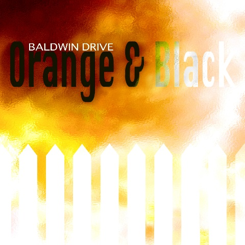 "ZIP055, 2008 | Baldwin Drive ""Orange & Black"""