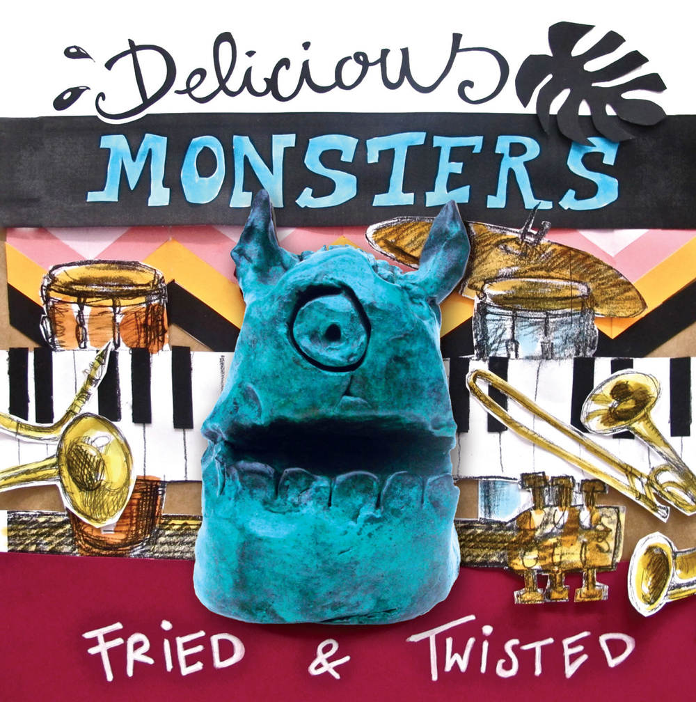 "ZIP097, 2015 | Delicious Monsters ""Fried & Twisted"""