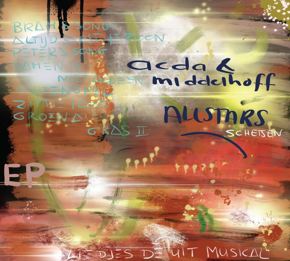 "ZIP166 | Acda & Middelhoff  ""All Stars - Schetsen"""