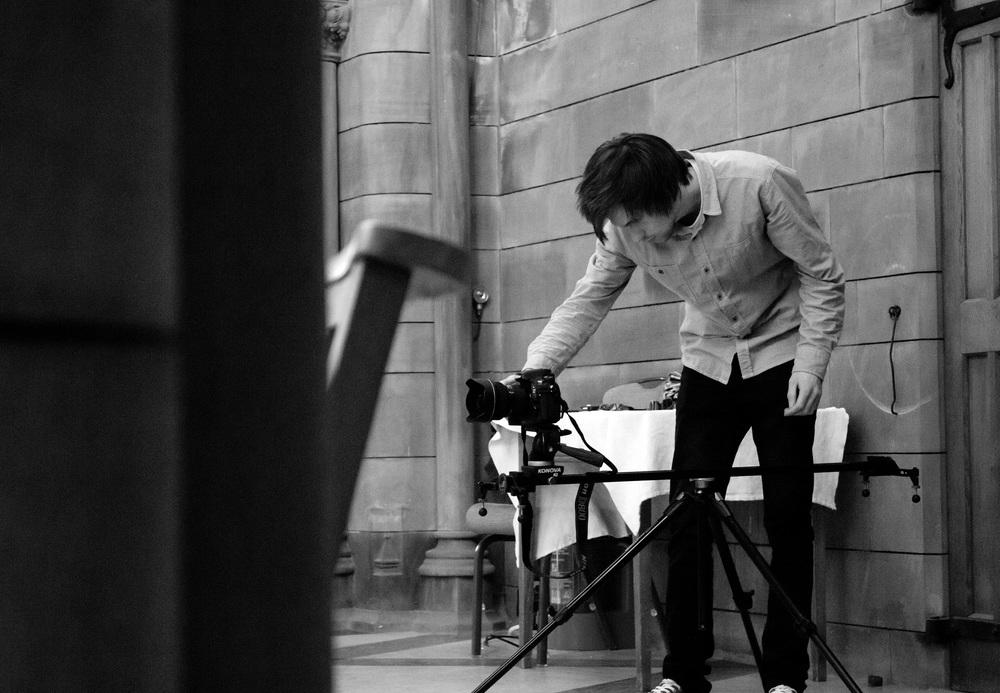 Behind the Scenes. Image shot by Hemera Visuals.