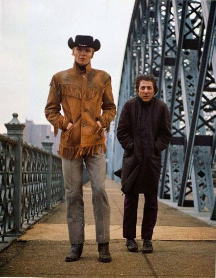 Jon Voight and Dustin Hoffman, Midnight Cowboy 1969