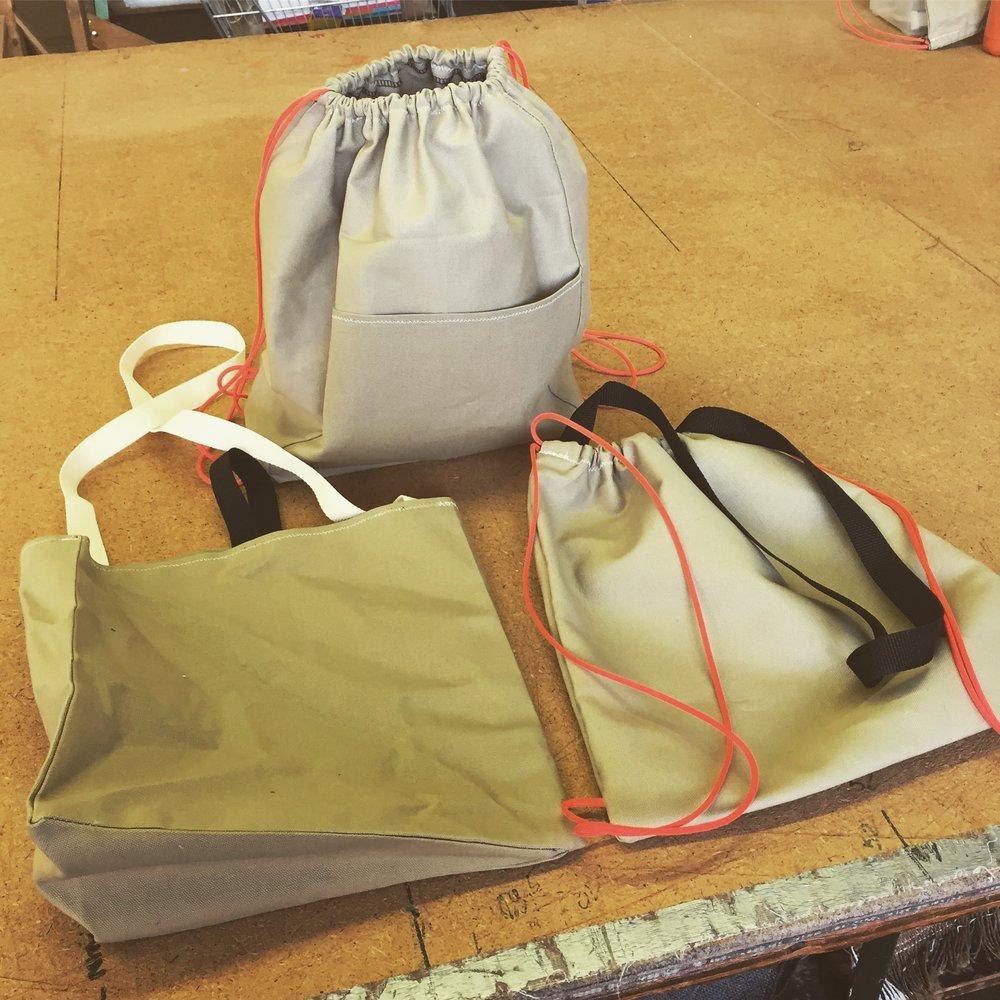 Bag prototypes