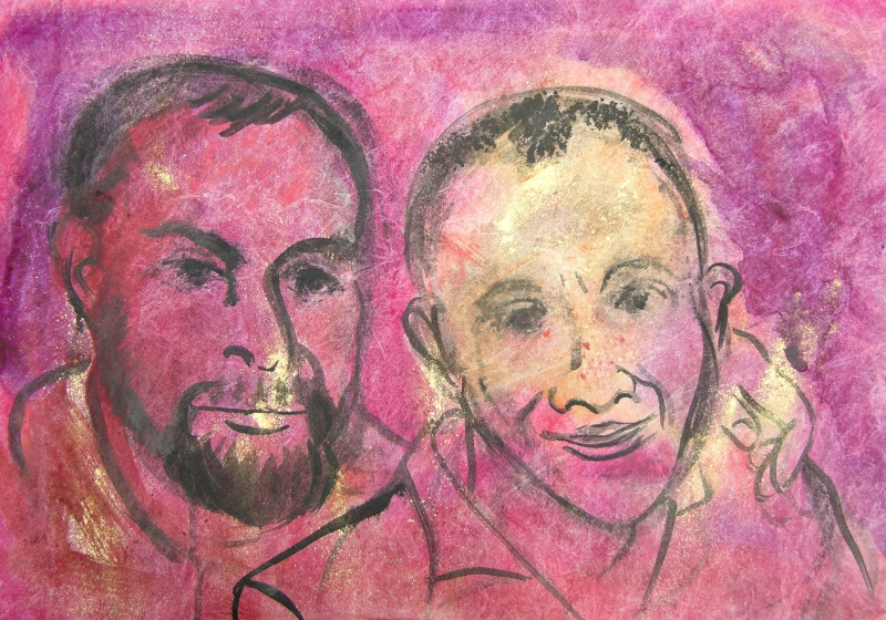 Portrait of Rick and Bob, 2014