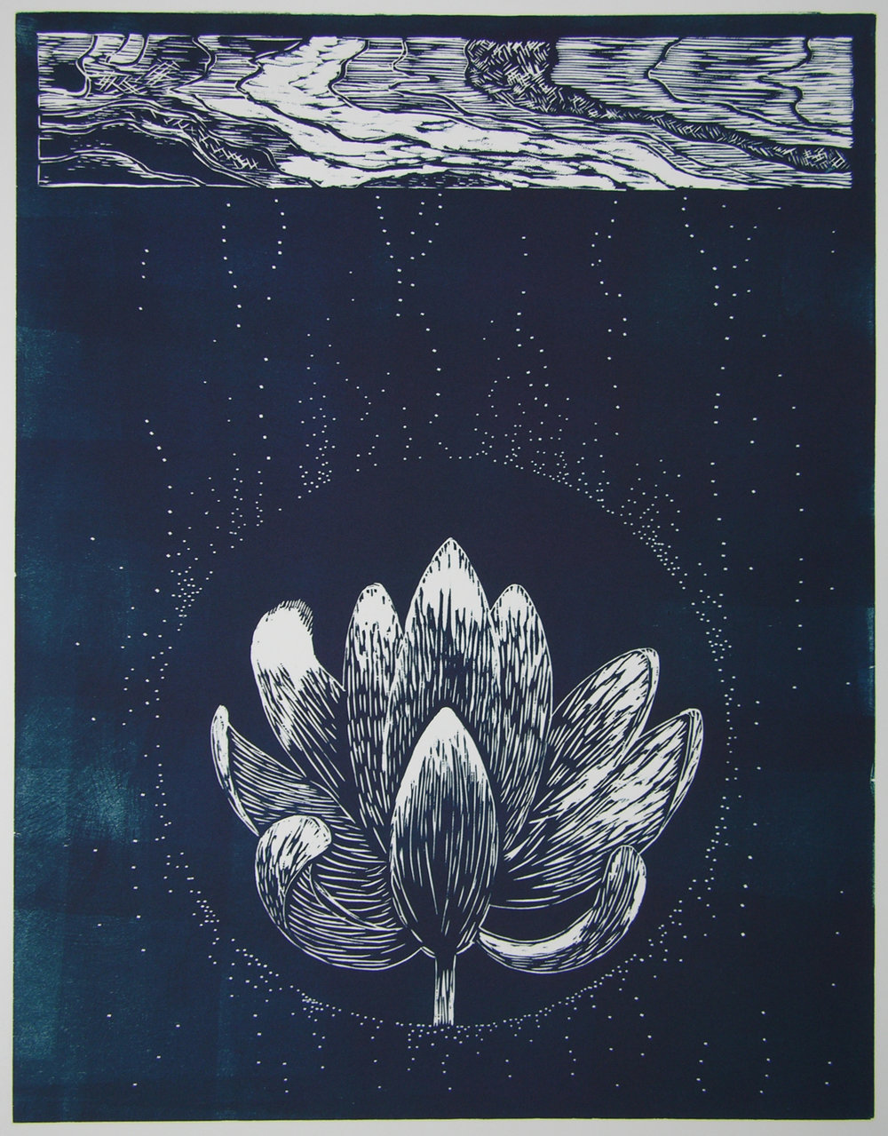 Lotus Bronze Blue