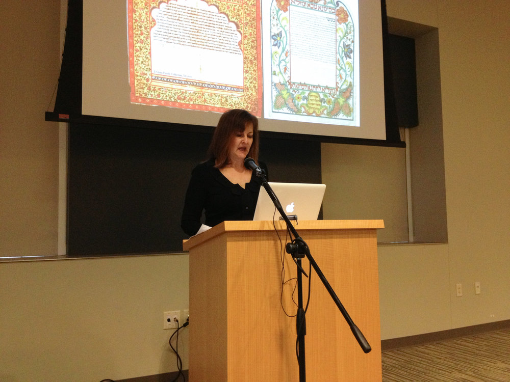 presenter, Conney Conference on Judaic Arts, UW-Madison, 2013