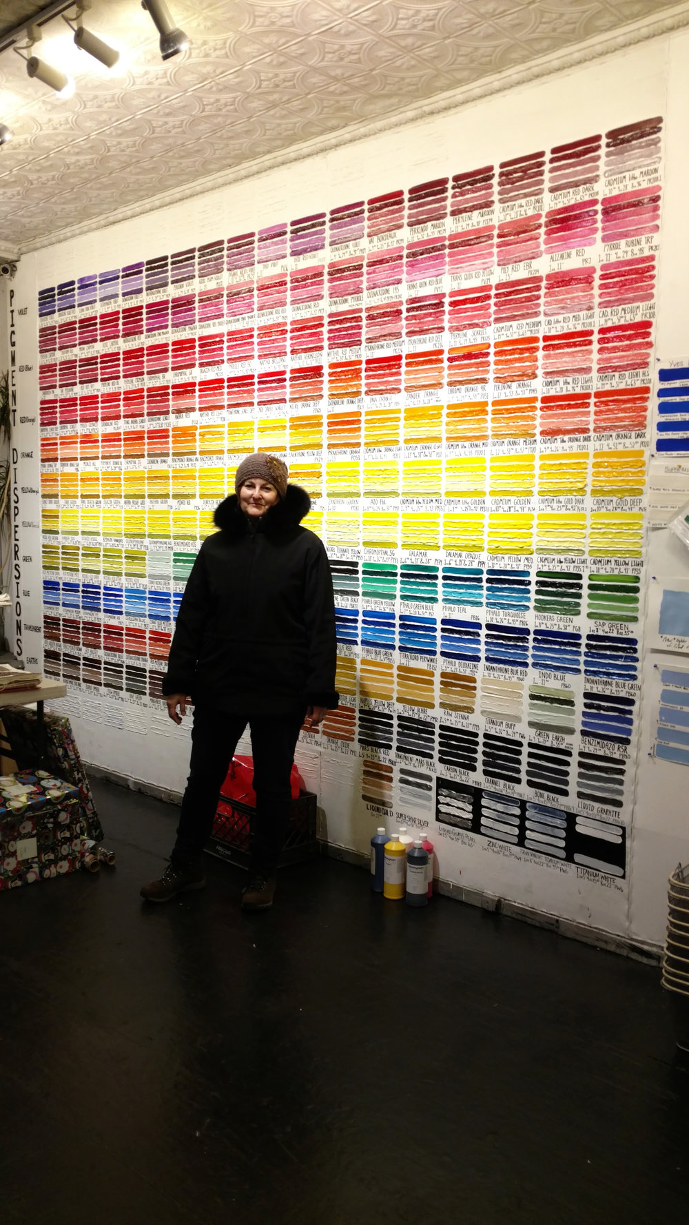 at Guerra Paints, NYC