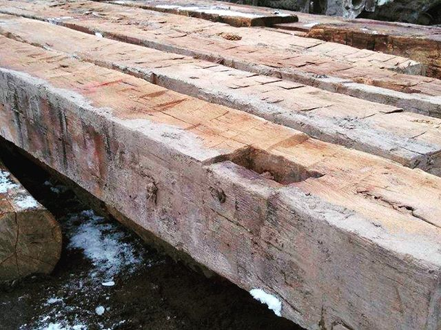 We recently sourced these hand hewn gems for a return client. #handhewn #satisfaction
